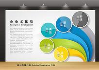 创意企业文化背景墙