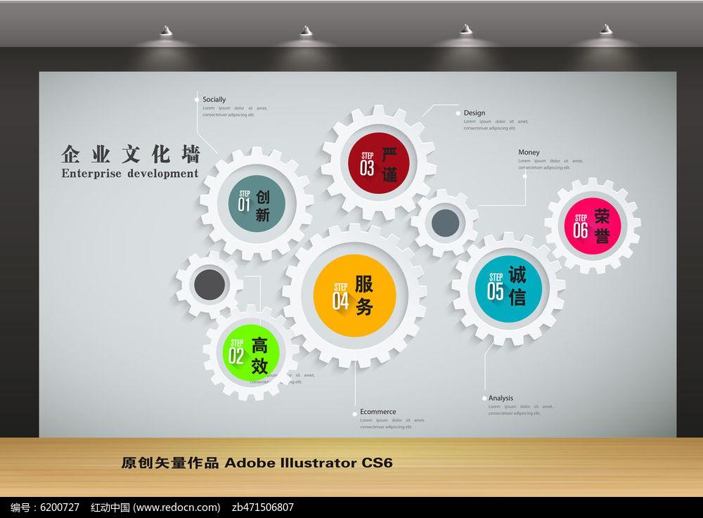 企业文化墙创意设计