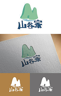 山谷家logo