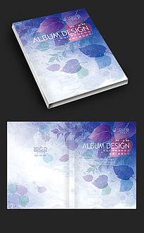 紫色森林梦幻画册封面