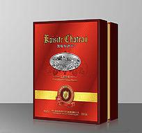 凯斯特红酒双支礼盒设计