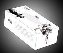 水墨纸巾盒