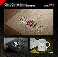 台式餐厅logo西式咖啡厅 AI