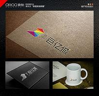 图文logo设计地产logo设计