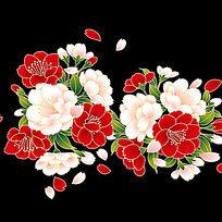 樱花矢量图