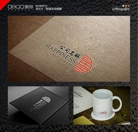 中国传统纹样公司标志logo