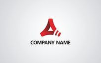 科技企业logo CDR