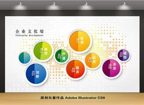企业文化墙背景设计