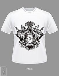 欧洲古老骑士T恤