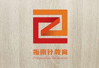 变形指南针教育logo