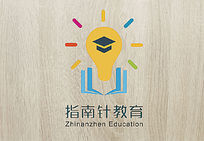 大气指南针教育logo