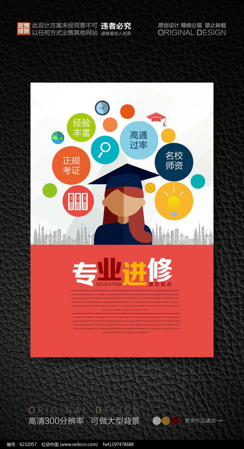 教育培训机构宣传海报图片