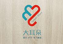创意时尚大耳朵logo