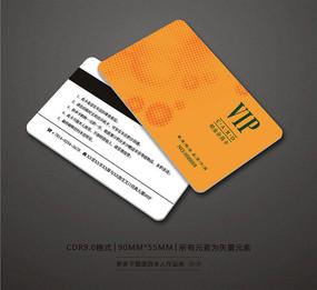 简约商场会员卡设计