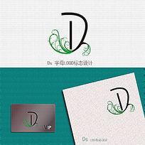 字母LOGO变形标志设计