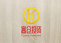 简约时尚富仓投资logo
