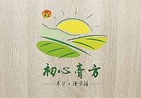 绿色清新初心膏方logo