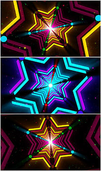 动感炫丽酒吧夜场VJ视频LED视频素材