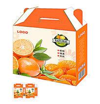 新鲜橙子水果包装模板