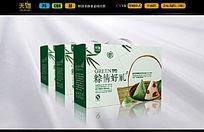 清新自然粽子礼品盒