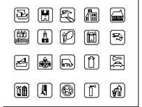 20款公共场合标识CAD dwg