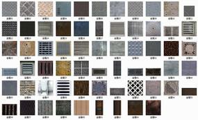 64种金属材质贴图
