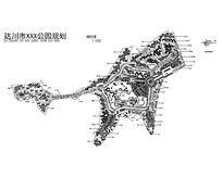 达川市XXX公园景观规划CAD