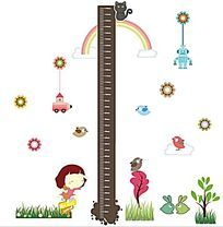 儿童身高尺