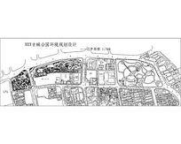 古城公园规划景观设计总平面CAD
