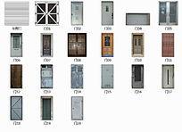 立面各种材质门类贴图 JPG