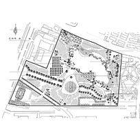 小公园景观设计CAD图纸