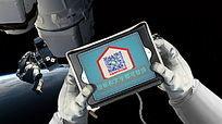 宇航员太空行走微信创意小视频模板