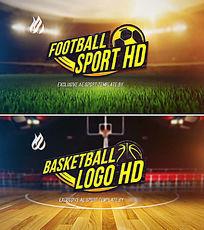 震撼大气体育运动logo标志演绎ae模板