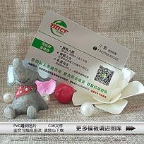 PVC材质金融贷款透明名片