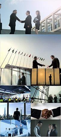 电子商务合作商务人士办公会议视频