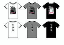 剑道头盔搏击运动男装T恤图案