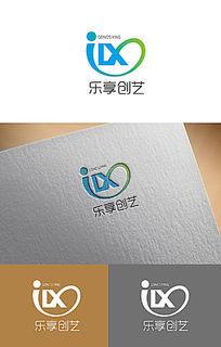 蓝色创意logo