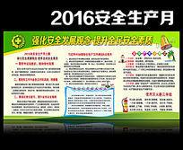 2016全国安全生产月展板