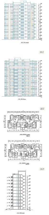 多层建筑户型设计图