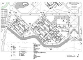 建筑规划总平面图