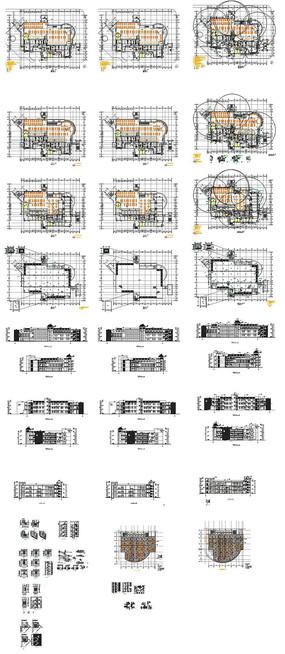 学校食堂施工图