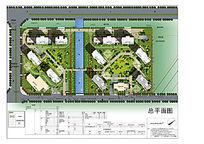 简单大气的住宅绿化彩平PSD