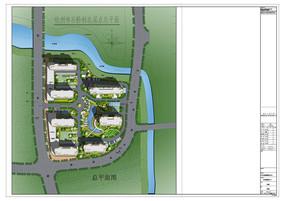 车位规划综合楼绿化设计PSD