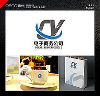 电子商务logo设计 AI