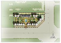 规则式住宅景观绿化设计PSD PSD