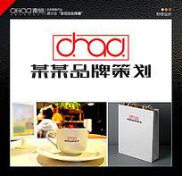 简约时尚字母logo广告业logo