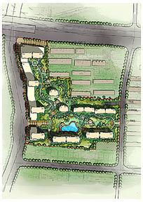 居住区景观设计PSD