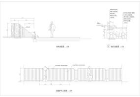 绿篱护栏CAD