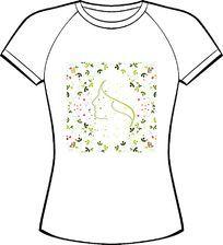 绿色清新印花服装设计