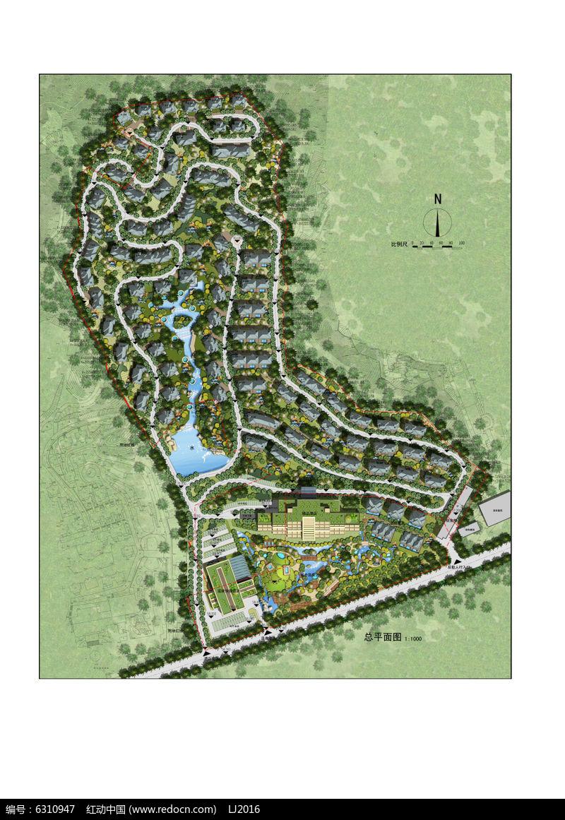 旅游规划 别墅酒店景观设计